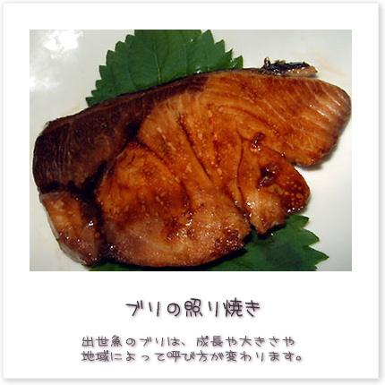 出世魚のブリは、成長や大きさや地域によって呼び方が変わります